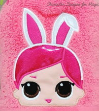 Bunny Doll Hooded Towel