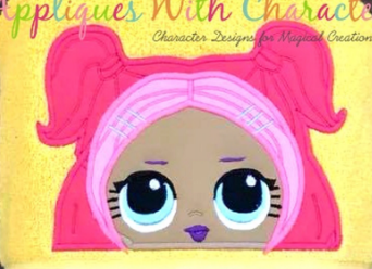 Cutie Doll Hooded Towel