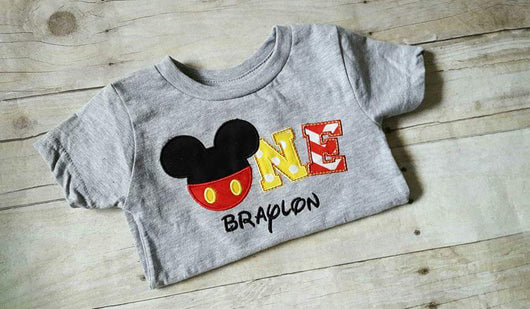 Mouse Ears Birthday Shirt