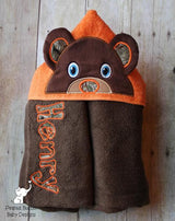Rescue Chipmunks -Silly One Hooded Towel