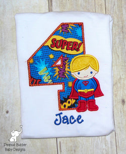 Super Hero Shirt