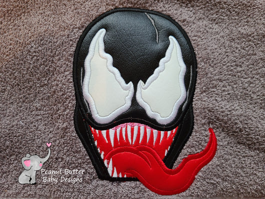 Venom Hooded Towel