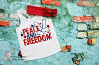 Peace & Freedom  - Youth Screen Print