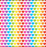 Rainbow Hearts TULLE bottom