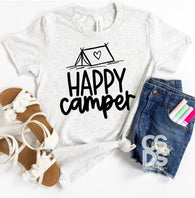 Happy Camper | Youth Screen Print