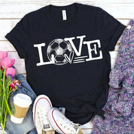 Love - Soccer | Adult | Screen Print