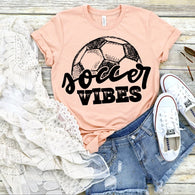 Soccer Vibes | Adult | Screen Print
