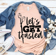 Let's Get Toasted | Adult | Screen Print