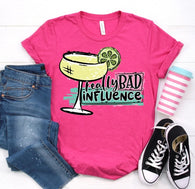 Really Bad Influence | Margarita | Adult | Screen Print
