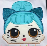 Baby Doll - Trouble Cat Doll Hooded Towel