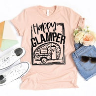 Happy Glamper - Leopard - Screen Print
