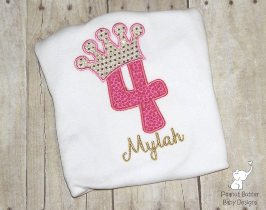 Custom Princess Birthday Shirt