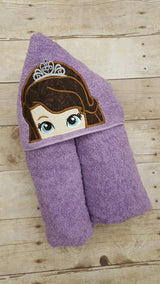 Amulet Princess Hooded Towel