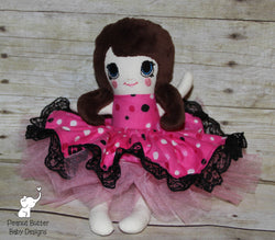 Fabric Doll, Custom Doll, Handmade Doll, Rag Doll, Soft Doll, Create Your Own Doll, Embroidered Doll, Like Me Doll, Custom Homemade Doll