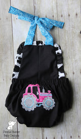 Blue Farm Romper
