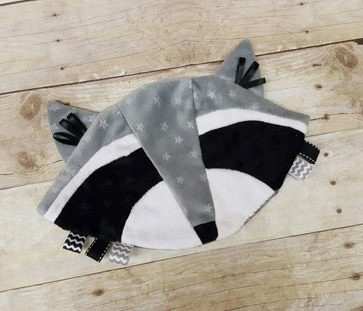 Raccoon Ribbon Lovey