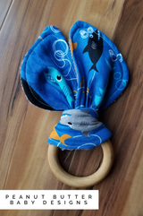 Wooden Teether -Shark