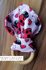Wooden Teether - Lady Bug