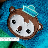 Ocean Rescuers - Penguin Hooded Towel