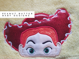 Toy Friends -- Cowgirl Jess Hooded Towel