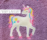 Unicorn 3 Hooded Towel