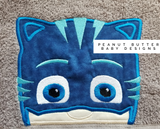 Bedtime Cat Hero Hooded Towel