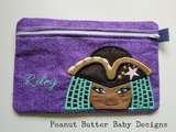 Princess Friends - Uma Zipper Pouch