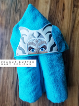 Ahsoka Hooded Towel
