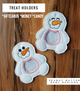 Sparkle Snowman Treat Holder
