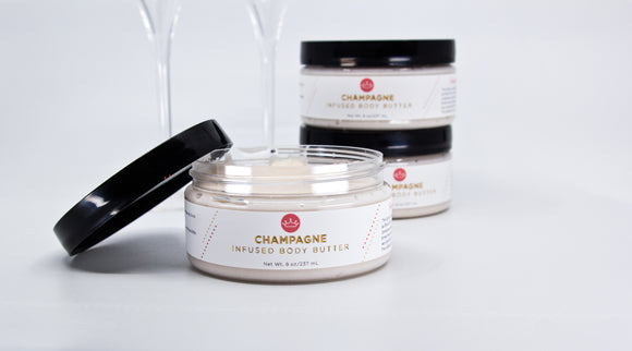 Champagne Infused Body Butter