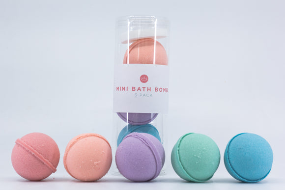 Mini Bath Bomb- 3 Pack Gift Set