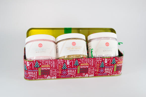 3 Scrub Holiday Gift Set