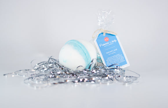 Snowflake Bath Bomb Sets