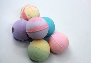 6 Bath Bomb Mixed Gift Set