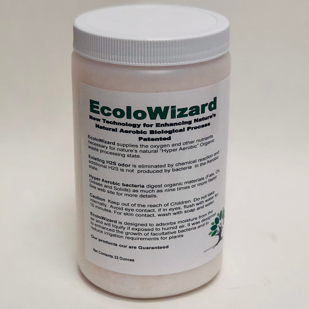 EcoloWizard - 2 LB Dry Product (x10 Formula)