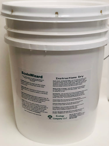 EcoloWizard - 40 LB Dry Product (x10 Formula)