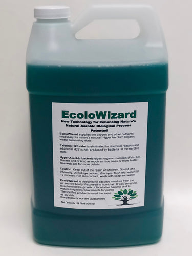 EcoloWizard 1 GALLON - Super Concentrate Liquid Product