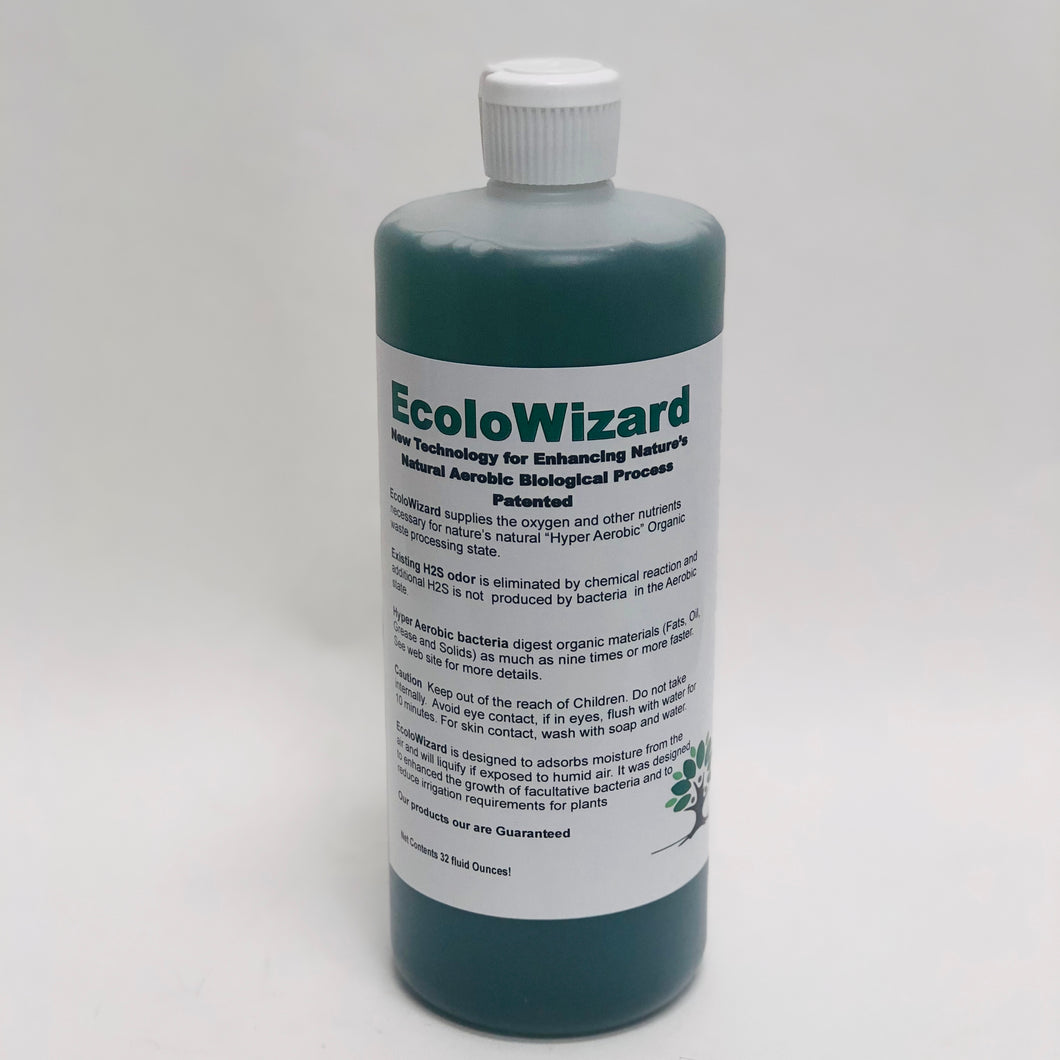 EcoloWizard 1 QUART - Super Concentrate Liquid Product