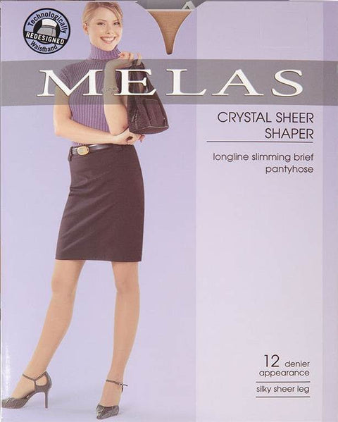 Melas Sheer Shaper 12 Denier Stockings AS611