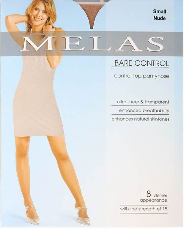 Melas Bare Control 8 Denier Stockings AS-614
