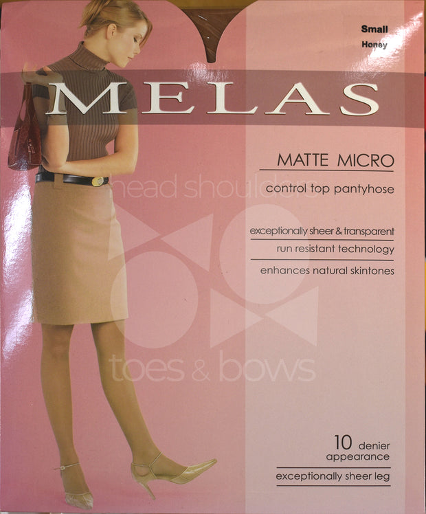 Melas Micromatte 10 Denier Stockings AS-617