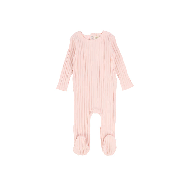 Analogie Wide Rib Footie - Baby Pink