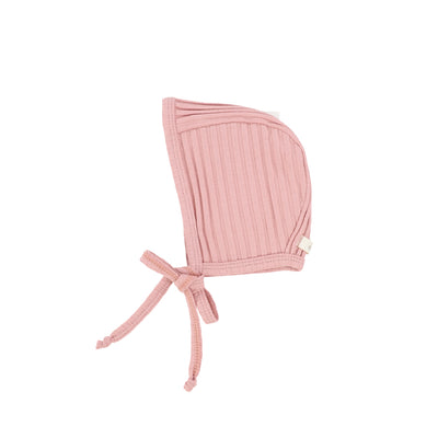 Lil Legs Wide Ribbed Bonnet - Barely Blush