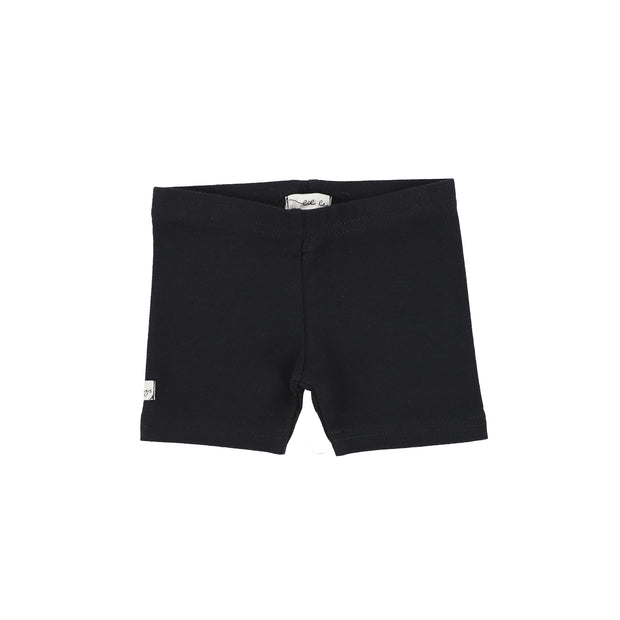 Lil Legs Biker Shorts - Black