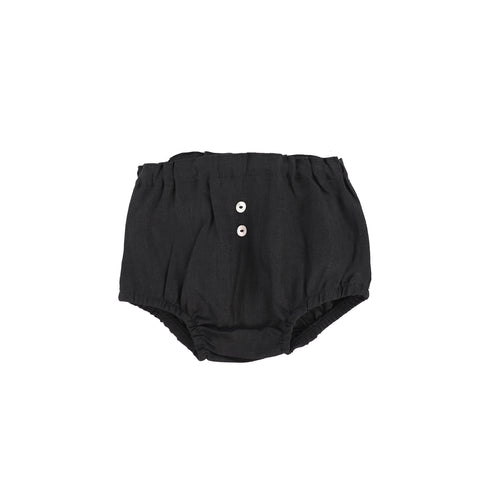 Analogie Linen Bloomers - Black