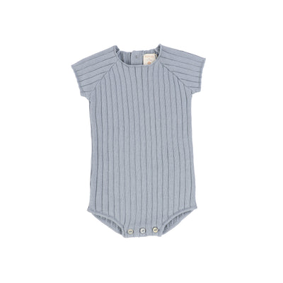 Analogie Knit Romper - Blue