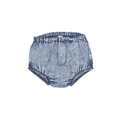 Analogie Denim Bloomers - Blue Wash
