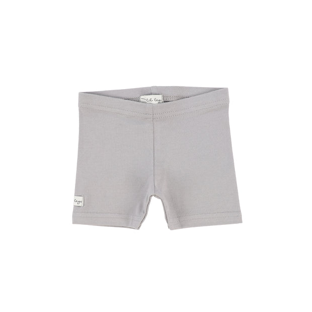 Lil Legs Biker Shorts - Dark Grey