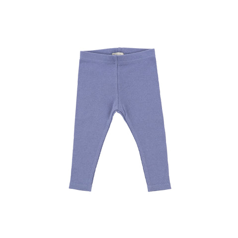 Lil Legs Ribbed Leggings - Deep Blue
