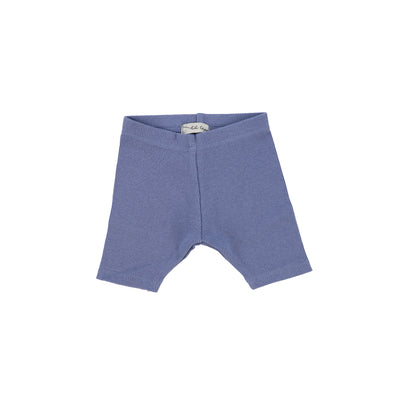 Lil Legs Ribbed Shorts - Deep Blue